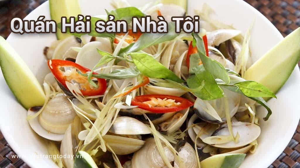 Quán hải sản Nhà Tôi Nha Trang