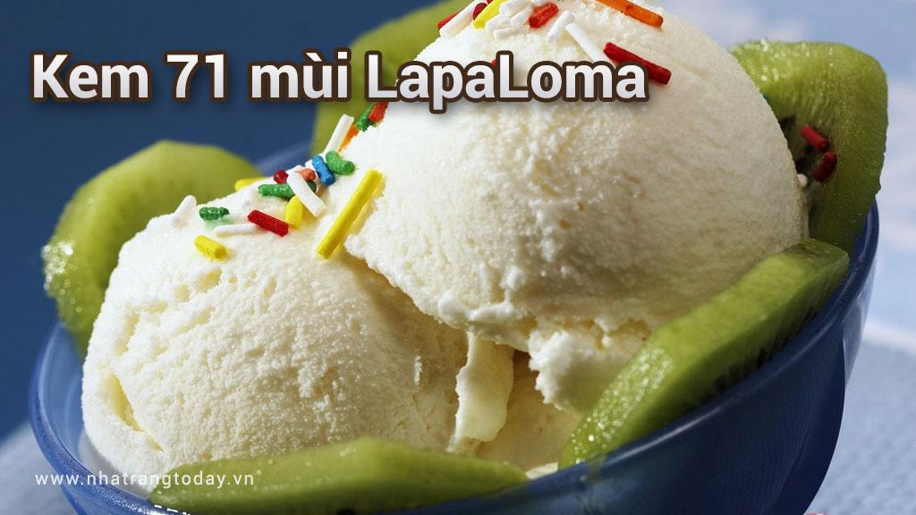 Quán kem 71 mùi LaPaLoma Nha Trang