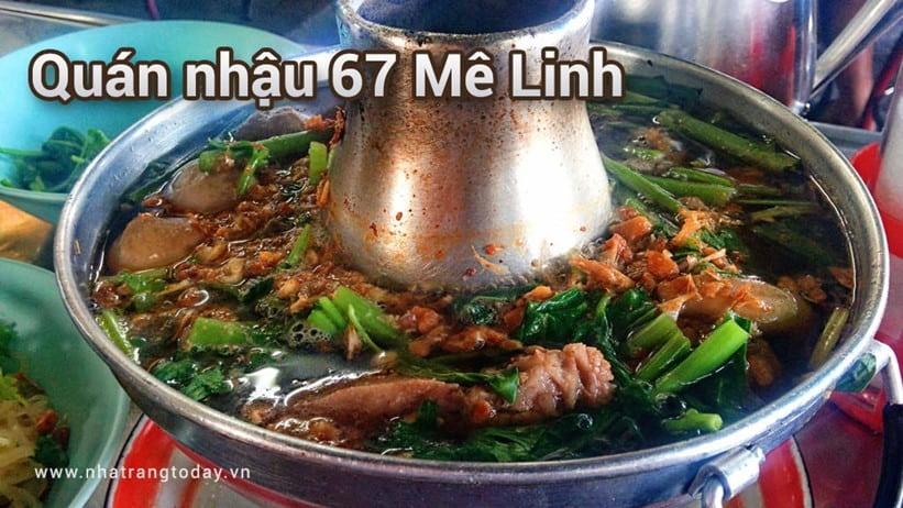 Quán nhậu bình dân 67 Mê Linh Nha Trang