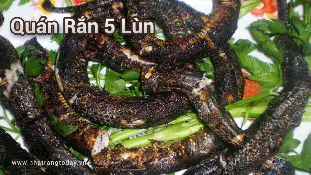 Quán Rắn 5 Lùn Nha Trang