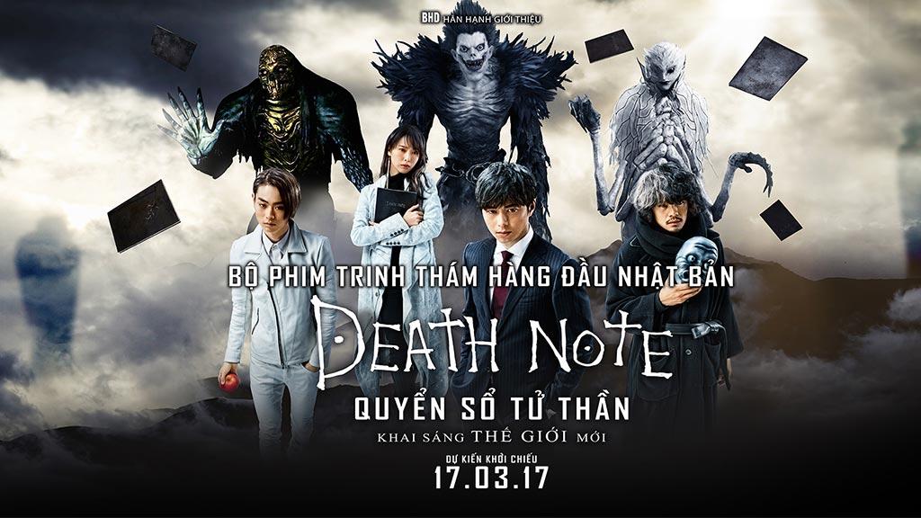 Phim Quyển Sổ Tử Thần - Death Note