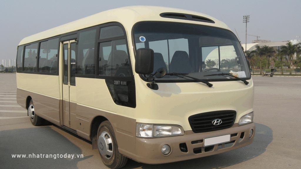 Cho thuê xe 24-29 chỗ tại Nha Trang