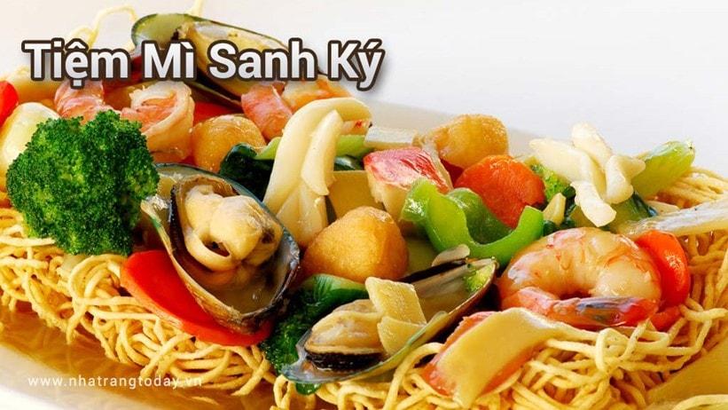 Tiệm mỳ Sanh Ký Nha Trang