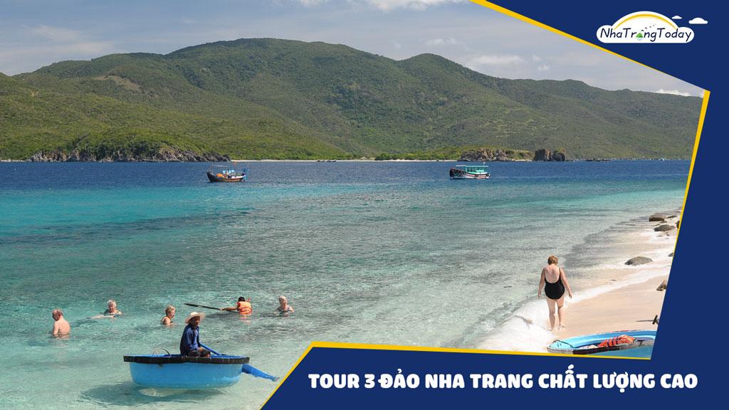 Tour 3 đảo Nha Trang Chất Lượng Cao 2017