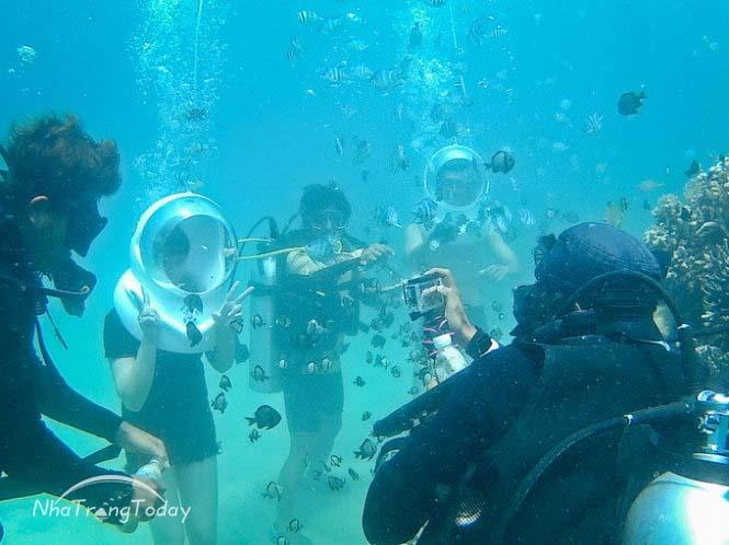 Tour đi bộ dưới biển Nha Trang [2017]