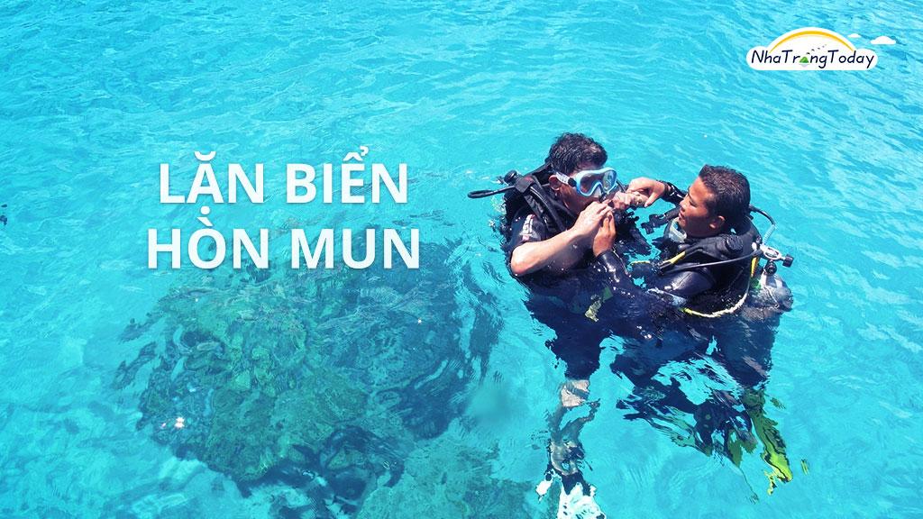 Tour lặn biển Hòn Mun HOT 2017